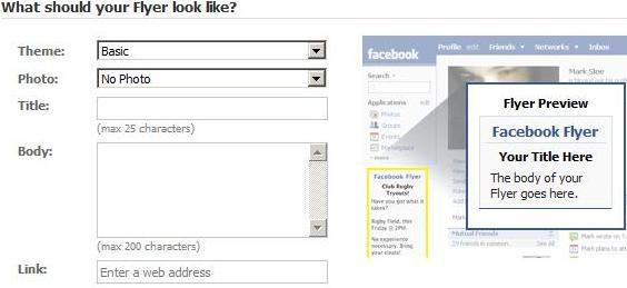 Facebook Flyers Pro