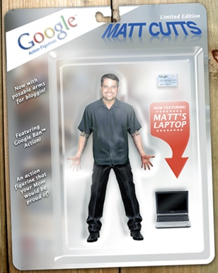 Matt Cutts in versione action figure