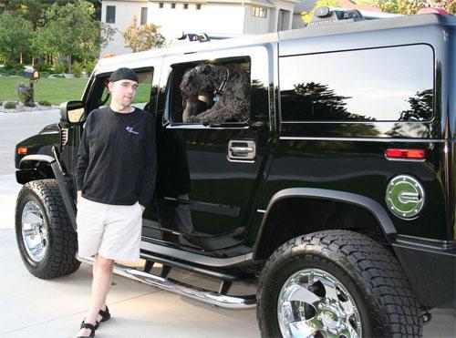 ShoeMoney e il suo Hummer H2