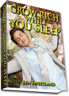 "La copertina di ""Grow Rich While You Sleep"""