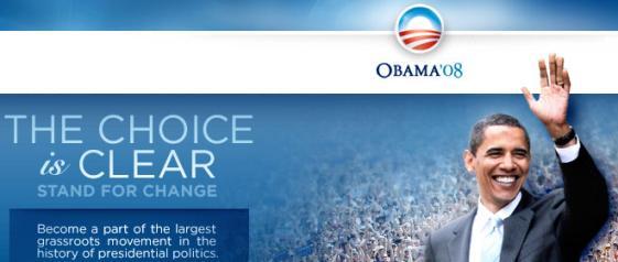 Il sito di Barack Obama