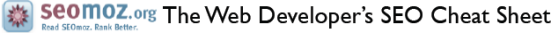The Web Developer's SEO Cheat Sheet by SEOmoz