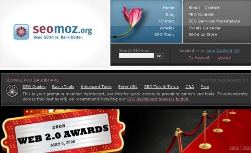 SEOmoz Web 2.0 Awards… sparito da Google
