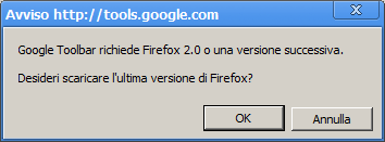 Ecco cosa accade se cerchi di installare la Google Toolbar su Chrome…
