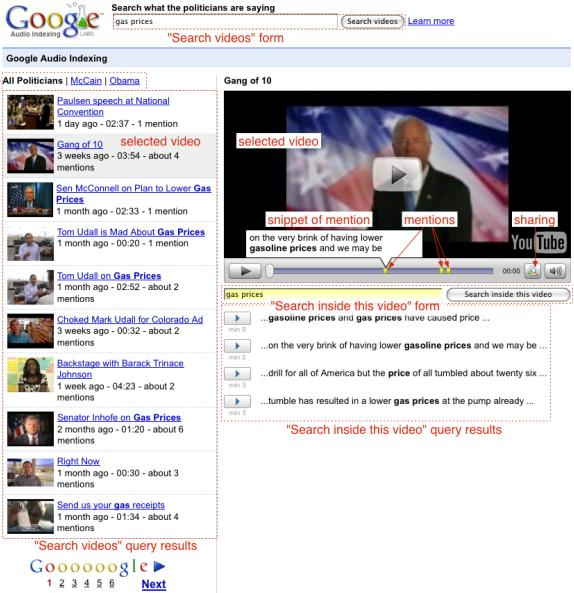 Funzionamento di Google GAUDI
