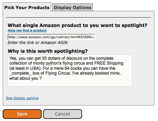 Il modulo di affiliazione di Amazon in Squidoo