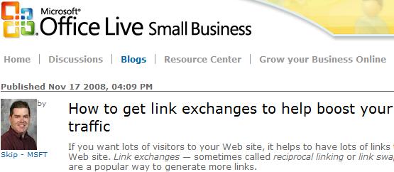 """""""Come scambiare link e incrementare il traffico"""""""