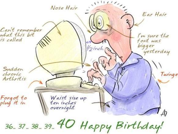 I miei primi 40 anni :-)