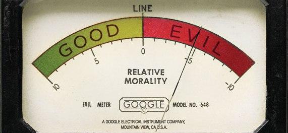 """Il misuratore di """"moralità"""" di Google :-)"""
