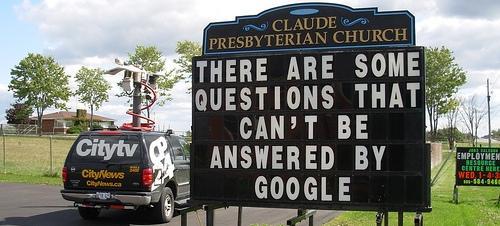 Google non ha una risposta per tutte le domande :-)