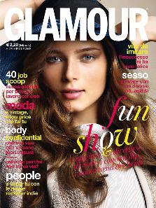 La copertina di Glamour - Aprile 2009