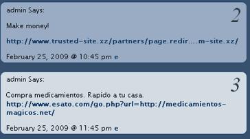 Due esempi di Open Redirect per inviare commenti spammosi