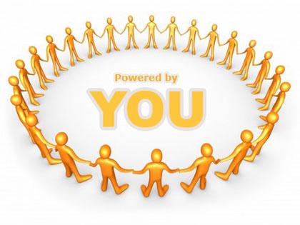 Al centro del social network, ci deve essere il tuo sito :-)