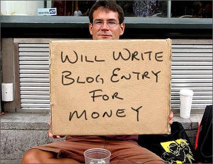Scrivere post per soldi... o con un altro obiettivo? :-)