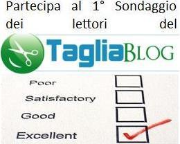 Partecipa al Sondaggio del Tagliablog... e vinci!