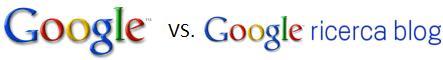 Web Search e Blog Search son mondi diversi...