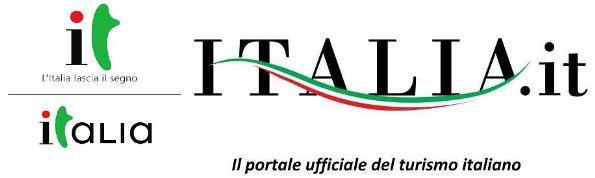 Il vecchio e il nuovo logo di Italia.it