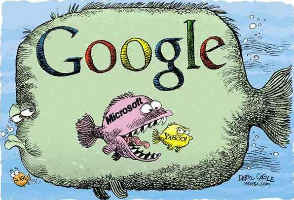 Google si mangia gli avversari?