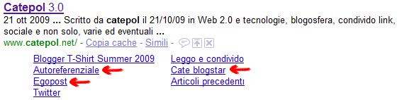 I Sitelink di Catepol.net :-)