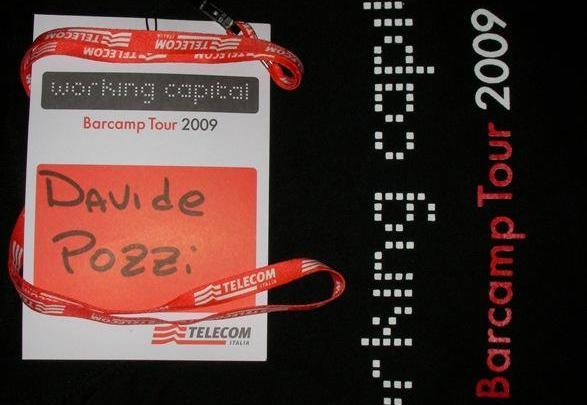 Badge e maglietta del Working Capital