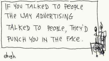 Hugh MacLeod sulla pubblicità