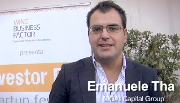 Emanuele Tha, fondatore di Moai Capital Group