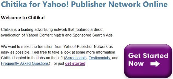 Chitika for Yahoo!