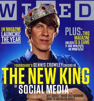 Dennis Crowley di Foursquare: il nuovo re dei Social Media