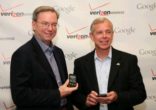 I 2 boss di Google e Verizon