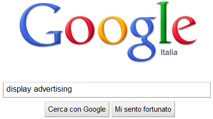 Google scommette sulla display advertising