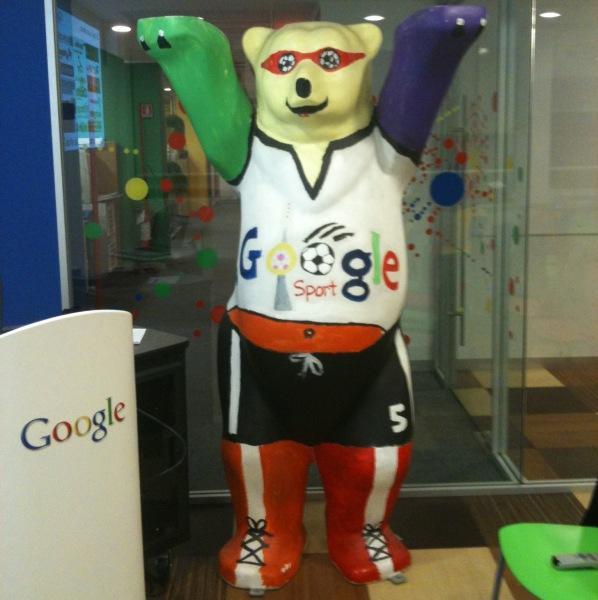 L'orso di Google