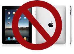 No iPad