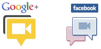 Google+, Facebook e le videochat