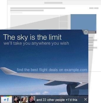 Banner con Google +1