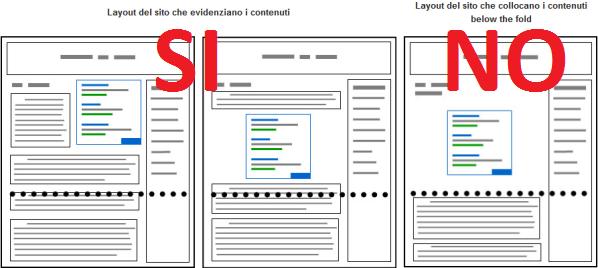 Google Page layout algorithm improvement