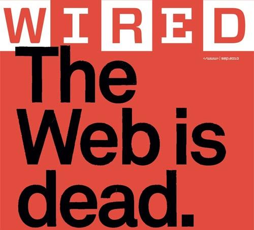 Il web è morto