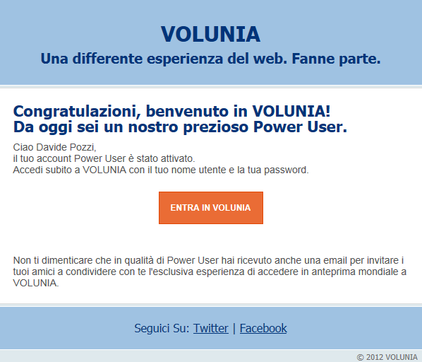 Volunia Power User