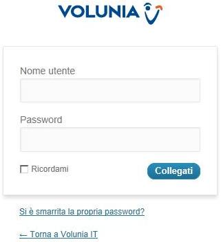 C'è WordPress dietro Volunia? :-)