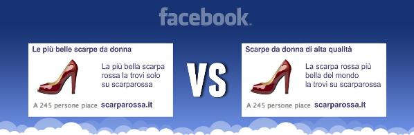 Test A/B su Facebook