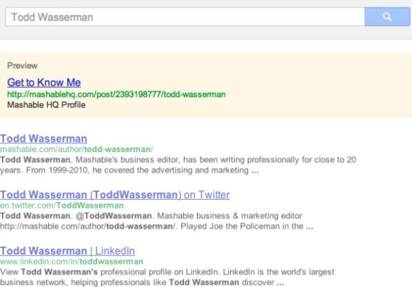 Un esempio di Norton Top Search Result nelle SERP di Google