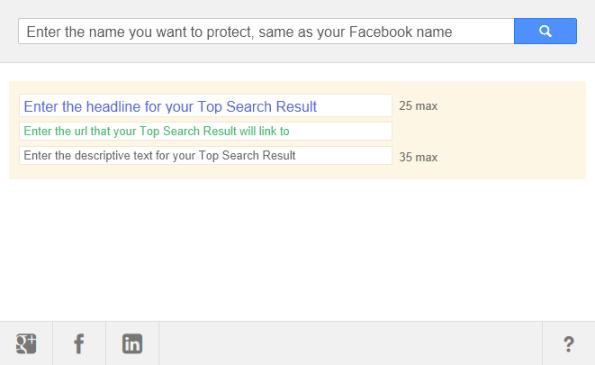 Il form di Norton Top Search Result