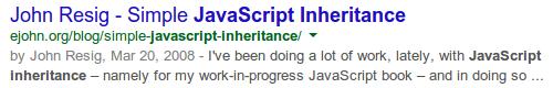 Le SERP di Google senza la faccina dell'autore