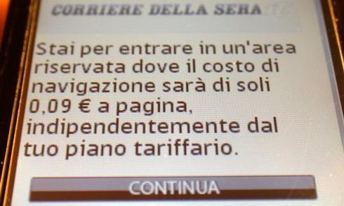 Paywall in arrivo sui quotidiani online?