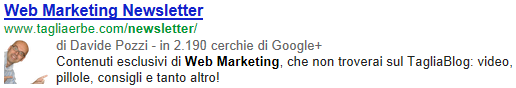 La Google Authorship del Tagliaerbe