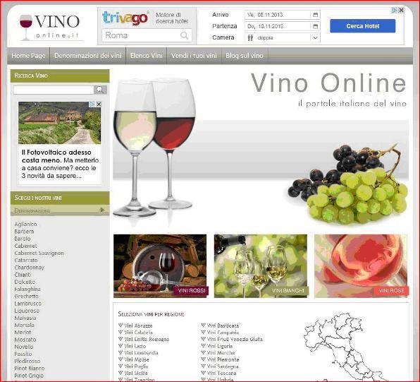 Il sito di vino-online.it