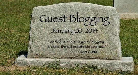 Guest Blogging morto