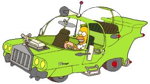 L'auto progettata da Homer Simpson