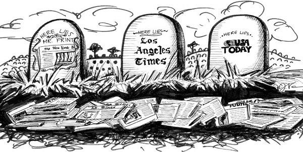 Giornalismo morto