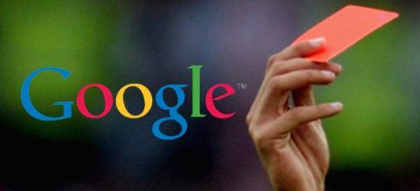 Le penalizzazioni di Google