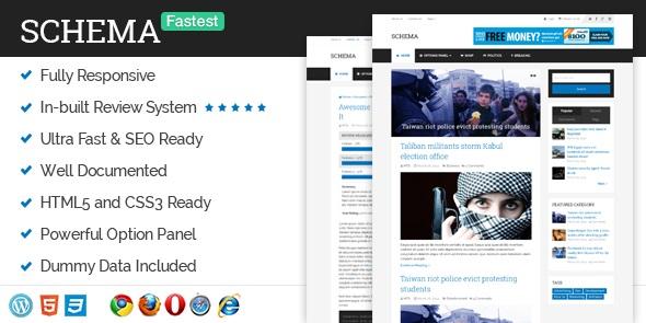 Il tema WordPress Schema